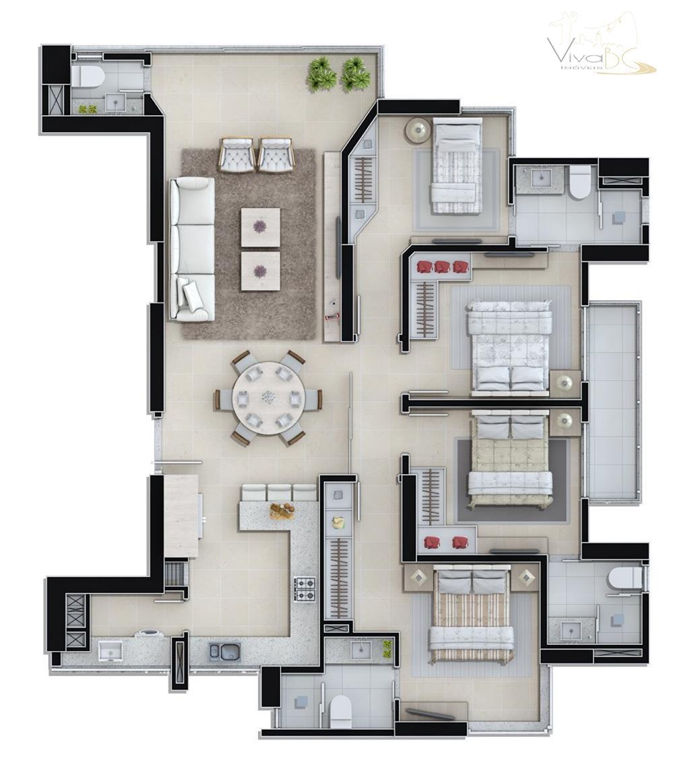 vende-sebairro centrobalneário camboriú scapartamento:excelente apartamento (apto) com 02 suítes mais 02 demi-suítes 02 vagas de garagens...