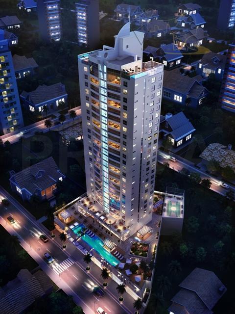 Excelente Apartamento com 4 Suites e 4 Vagas de Garagens na Beira Rio em Itajaí - SC