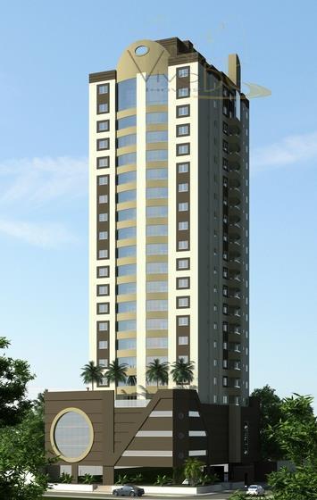 Excelente Apartamento Duplex com 4 Suites e 4 Vagas de Garagem no Centro de Itajaí com Vista para o Rio