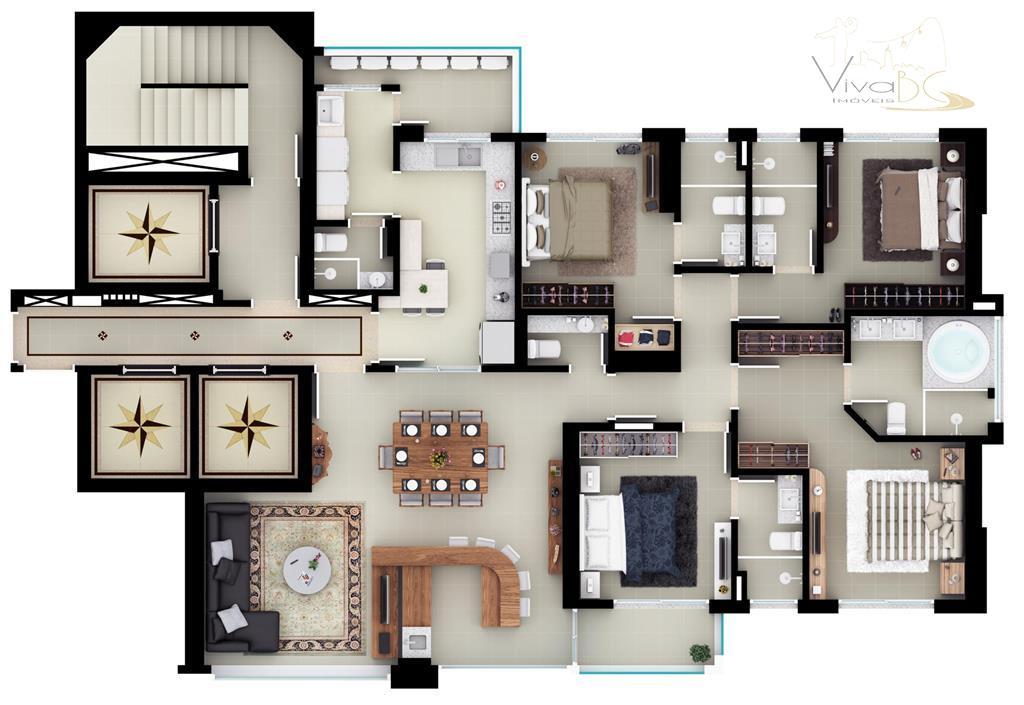 vende-sequadra marbalneário camboriúapartamento:maravilhoso apartamento na quadra do mar, com 04 suítes, sendo 01 suíte master com...