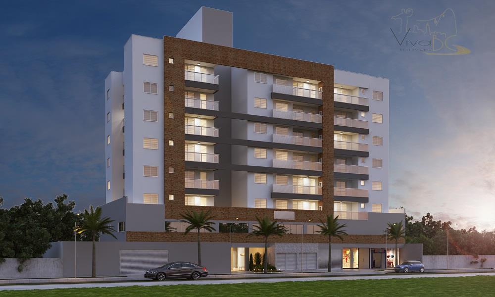 Excelente apartamento em construção com 2 dormitórios sendo 1 suíte, 1 vaga de garagem e com área de lazer em Camboriú
