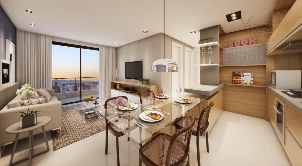 Lançamento 1 suite+ 1 dormitorio 1 vaga, area lazer completa, vista para mar.