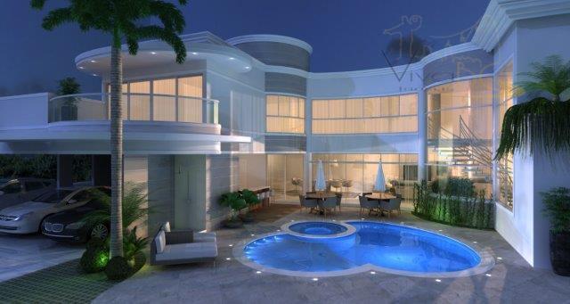 Mansão 600 m², 4 Suítes em Luxuoso Condomínio Fechado na Praia Brava - 2 Vagas. Cobertas e + 4 Vagas Abertas.