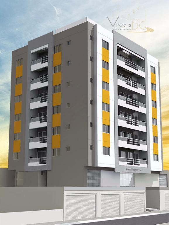 Ótimo apartamento em CONSTRUÇÃO com 2 dormitórios, sendo 1 suítes, 1 vaga de garagem, salão de festa em Camboriú