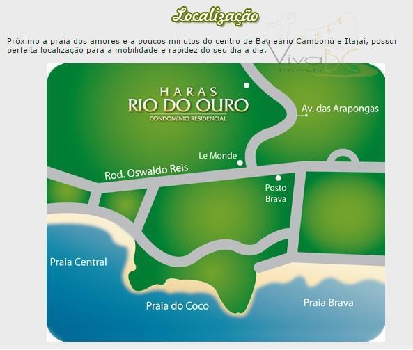 vende-sebairro ariribábalneário camboriú sclote 100 - 450 m².em meio a 160 mil m² de área verde,...