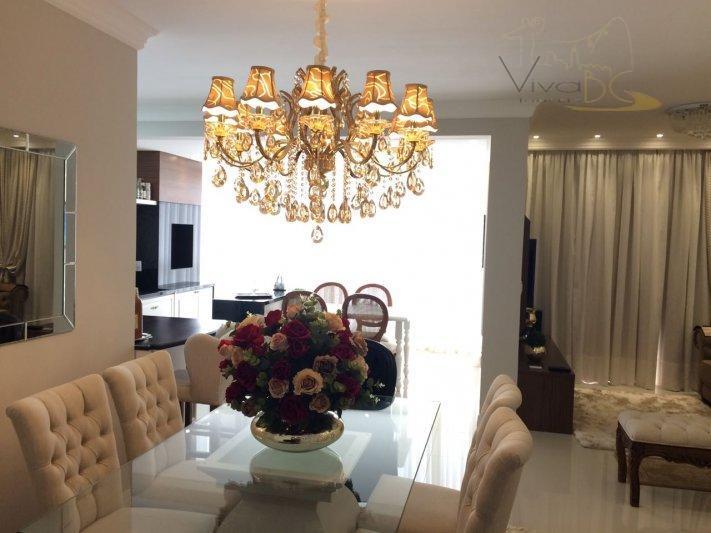 Belíssimo apartamento com 03 suítes no centro de itapema
