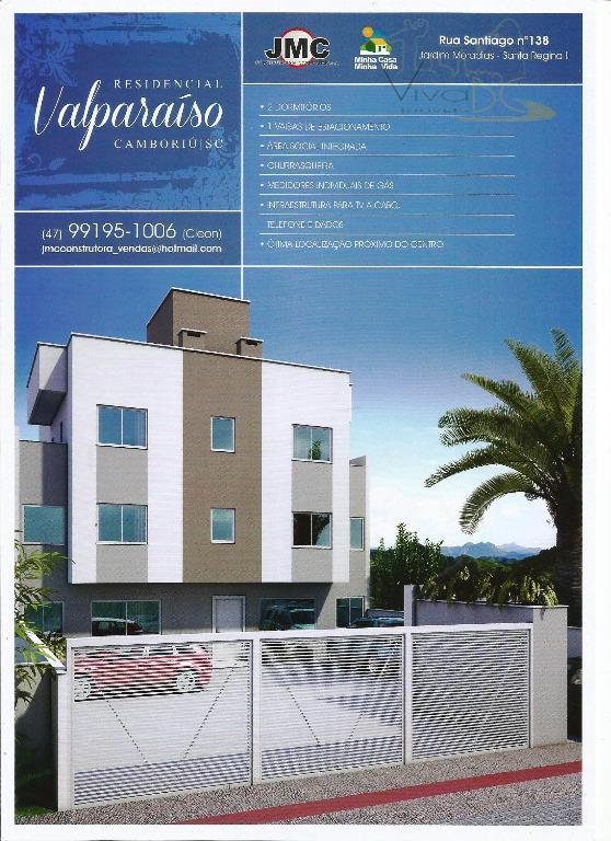vende-seexcelente apartamento de 02 dormitórios, minha casa minha vida no bairro santa regina em camboriú/sc.apartamento:02 dormitórios,...