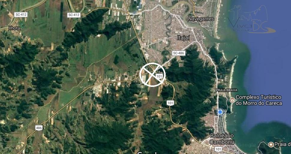 Ótima Área na Margina da BR 101 com a Rodovia Antônio Heil -