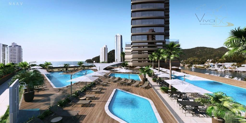 81 Pavimentos de Luxo, Modernidade e Sofisticação - 4 Suítes, 3 Vagas, Lazer Completo. (Yachthouse). Barra Sul.
