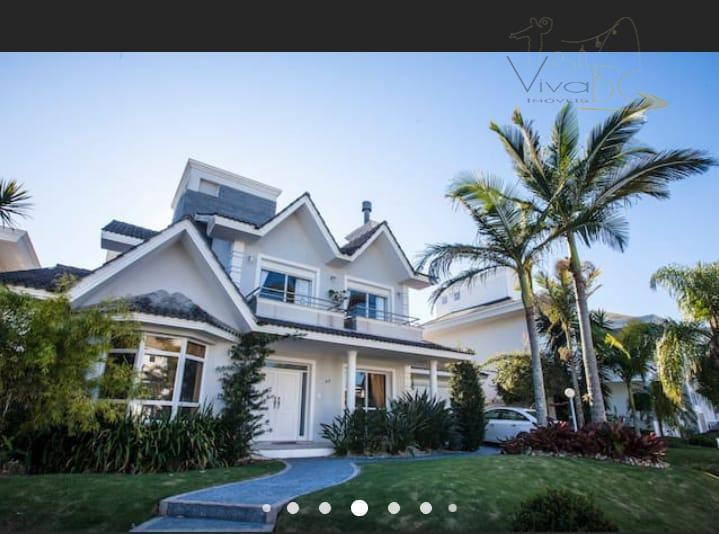 Casa Em Florianópolis Jurerê Internacional