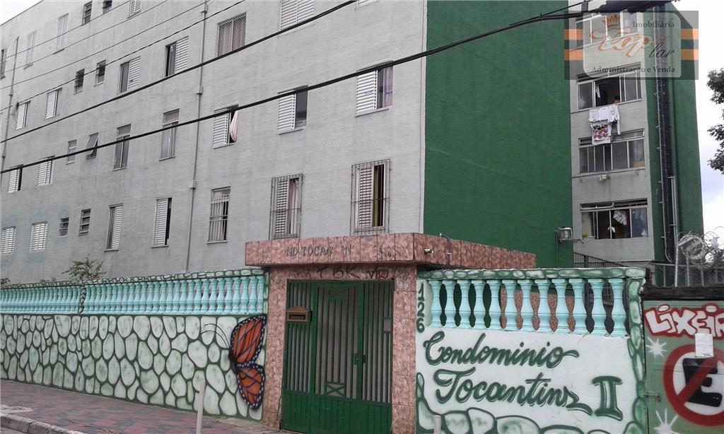 Apartamento  residencial à venda, Cohab Taipas, São Paulo.