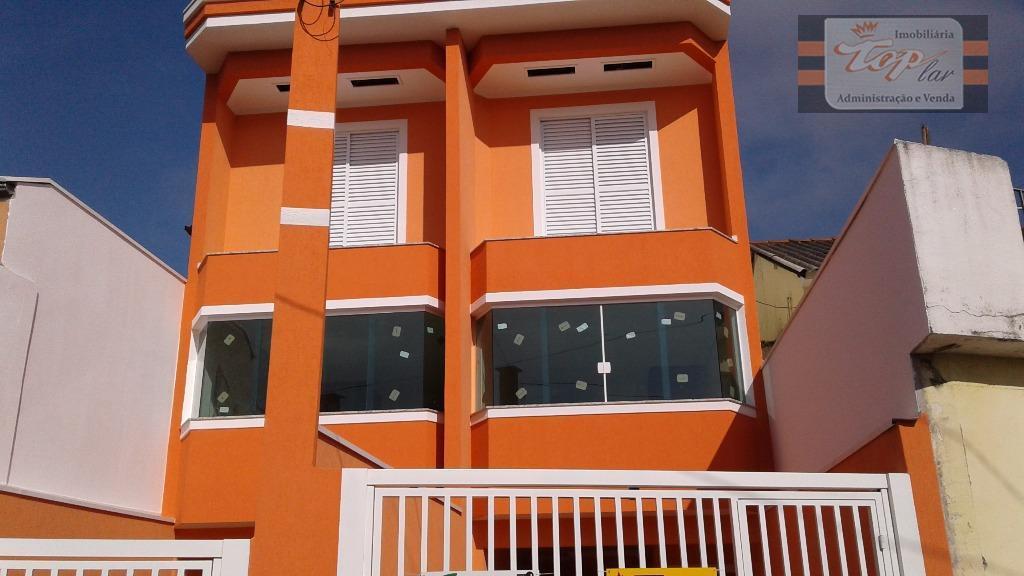 Sobrado NOVO à venda, Vila Pereira Barreto-SP