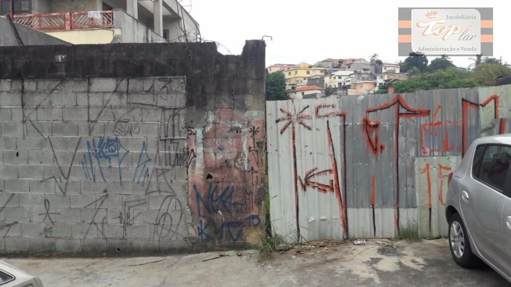 Terreno residencial à venda, Vila Zulmira, São Paulo.