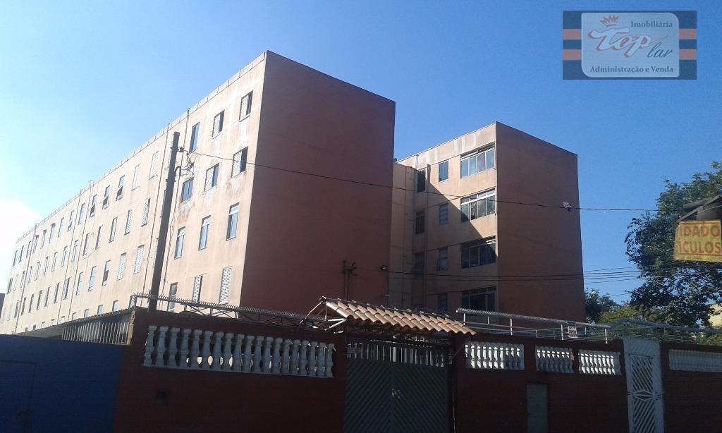 Apartamento residencial à venda, Conjunto Residencial Elisio Teixeira Leite, São Paulo.