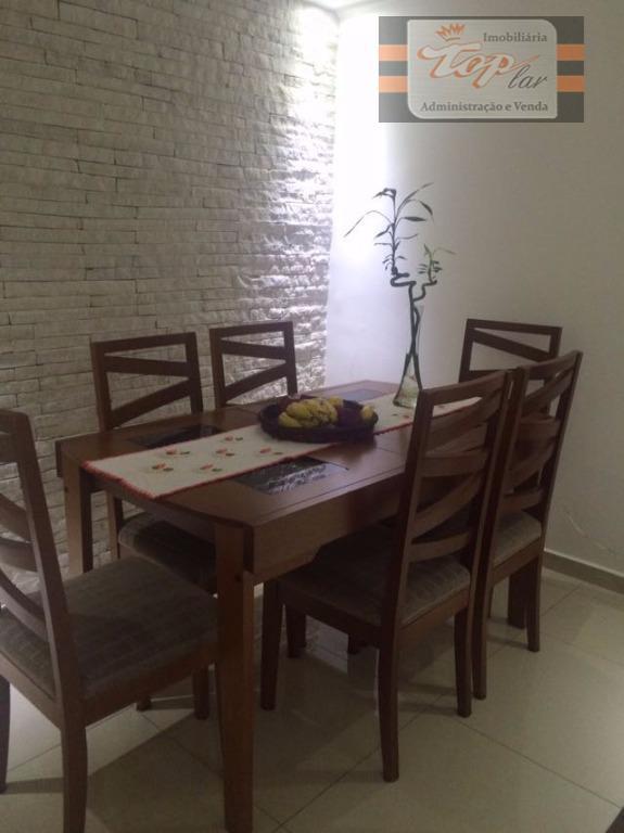 Apartamento residencial à venda, Vila Jaraguá, São Paulo.