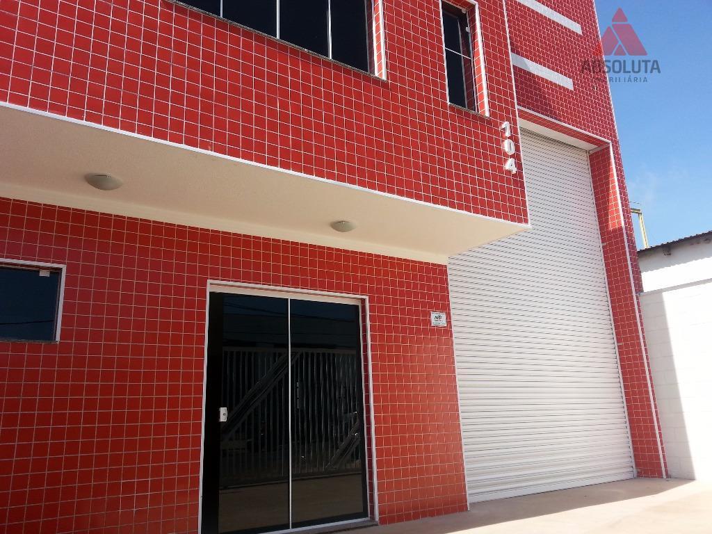 Salão industrial à venda, Jardim São Francisco, Santa Bárbara D'Oeste - SL0109.
