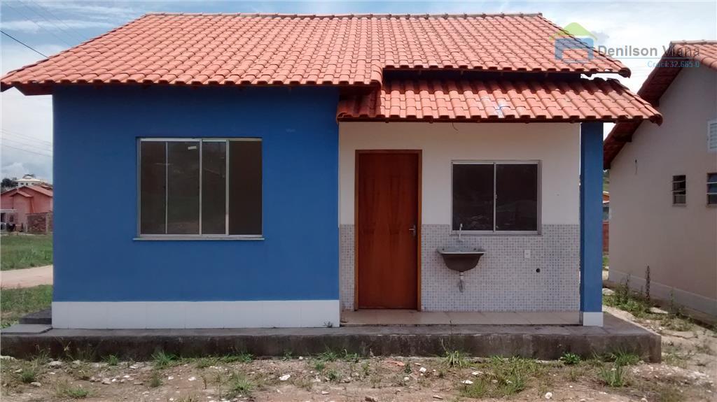 Casa em condomínio fechado financiada