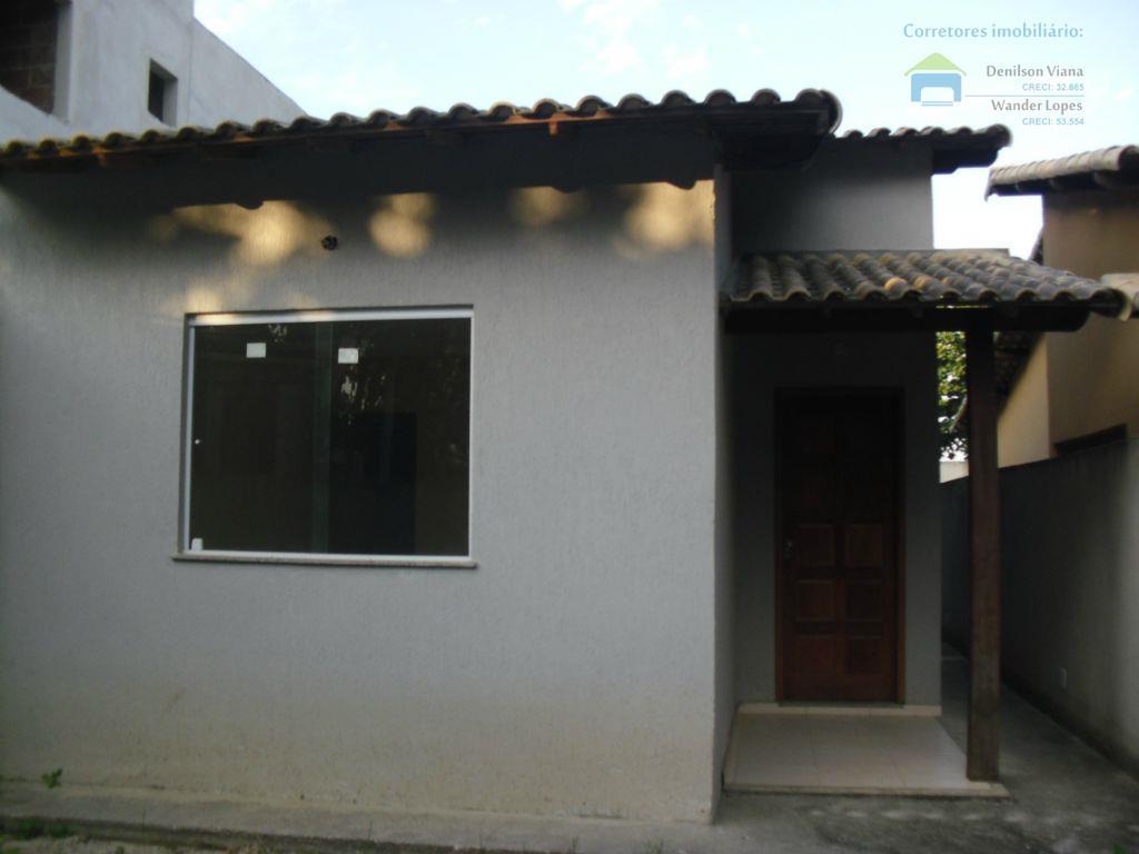 Casa financiada  em Joaquim de Oliveira, Itaboraí.