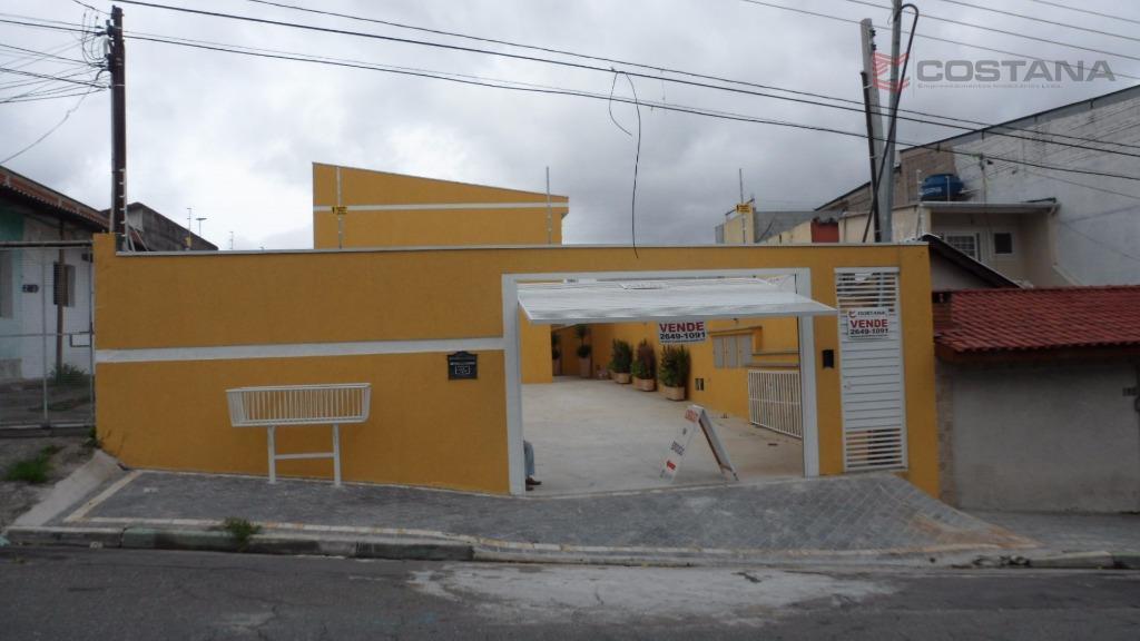 Sobrado residencial à venda, Vila Antonieta, São Paulo - SO0103.
