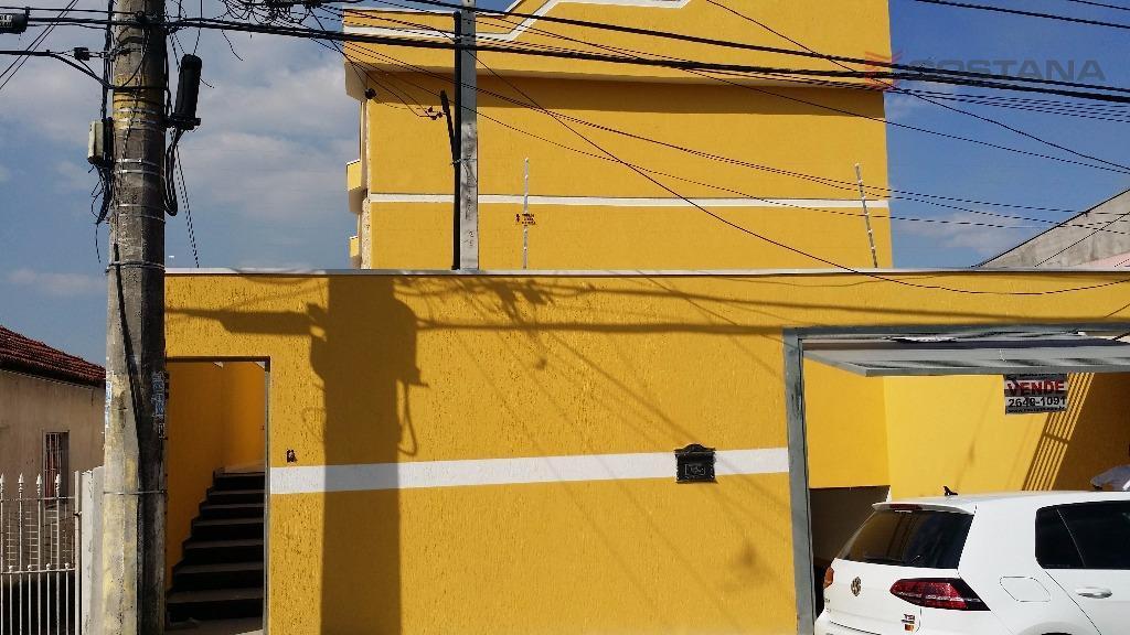 Sobrado residencial à venda, Parada XV de Novembro, São Paulo - SO0372.