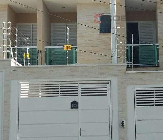 Sobrado residencial à venda, Vila Carrão, São Paulo - SO0412.