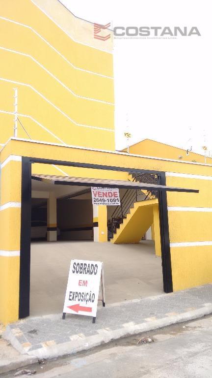 Sobrado residencial à venda, Parada XV de Novembro, São Paulo - SO0414.