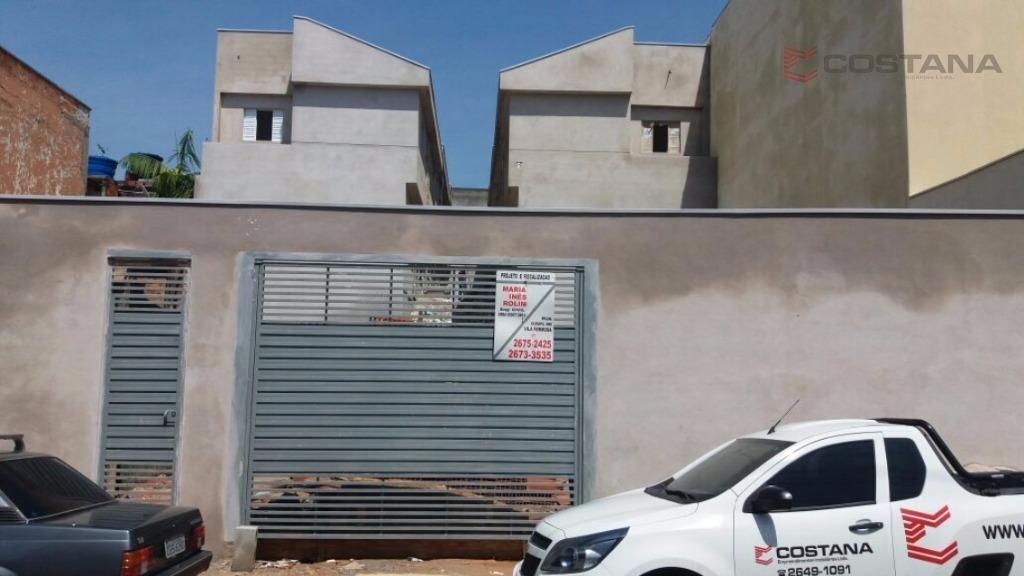 Sobrado residencial à venda, Vila Progresso (Zona Leste), São Paulo - SO0482.