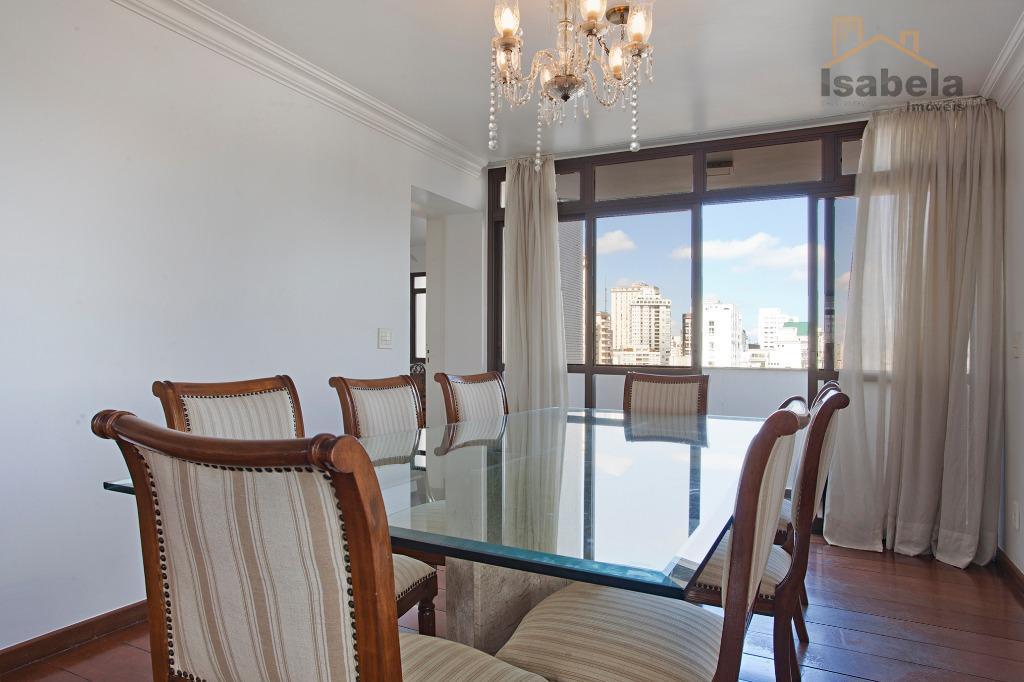 Apartamento residencial para venda e locação, Cerqueira César, São Paulo.