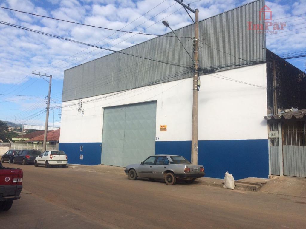 Galpão comercial para locação, Matadouro, Bragança Paulista.