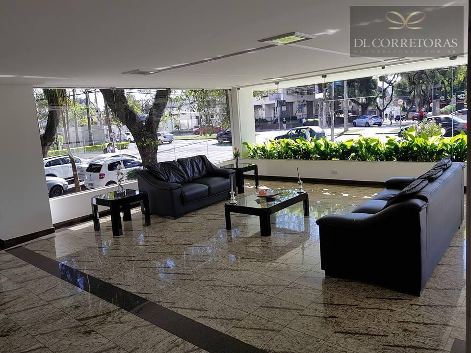 *dlcorretoras oferece para venda e/ ou locação apartamento com 3 quartos bairro batel*prédio elegante, arquitetura diferenciada,...