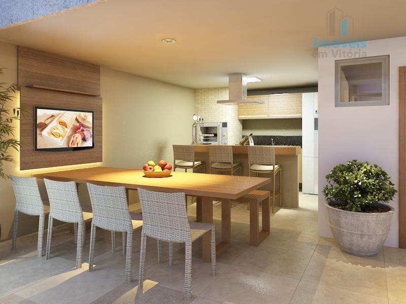 Apartamento lançamento 3 quartos, 1 suíte, 2 vagas à venda, Jardim Camburi, Vitória.