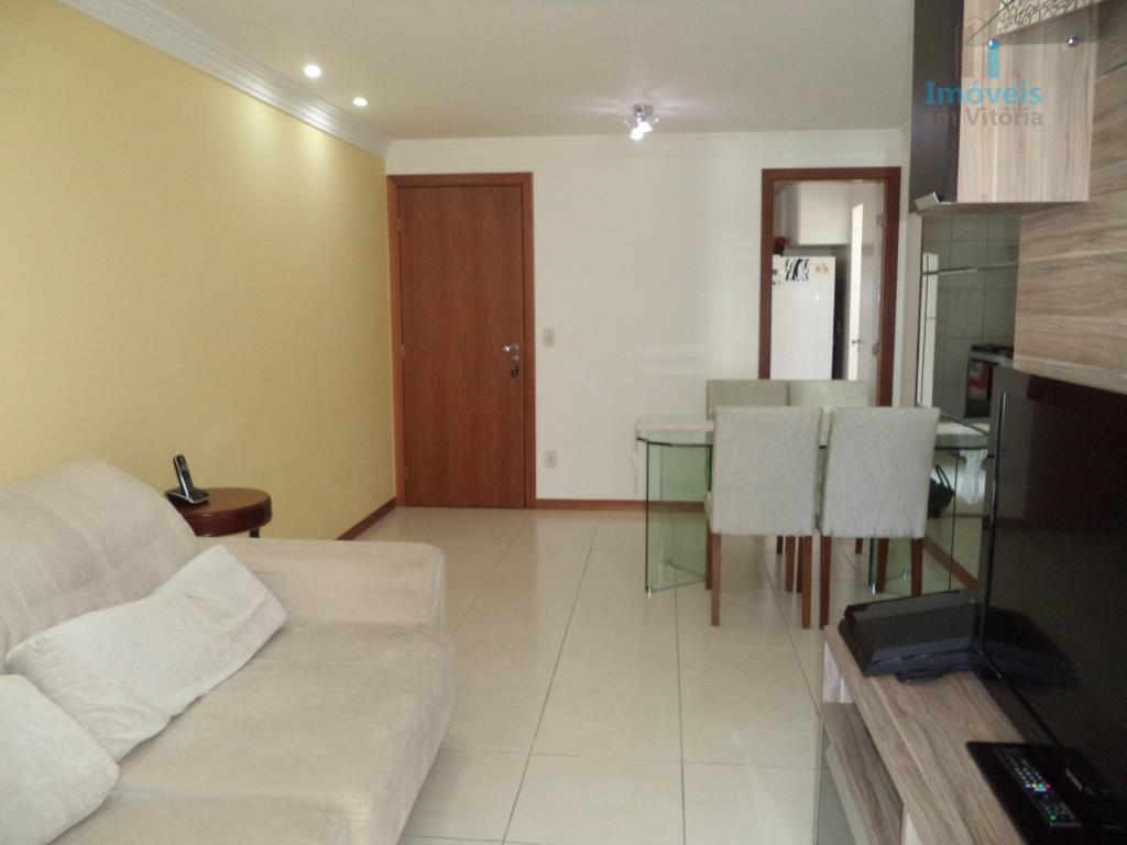 Apartamento 3 quartos (1 suíte), varandão e lazer à venda, Jardim Camburi, Vitória.
