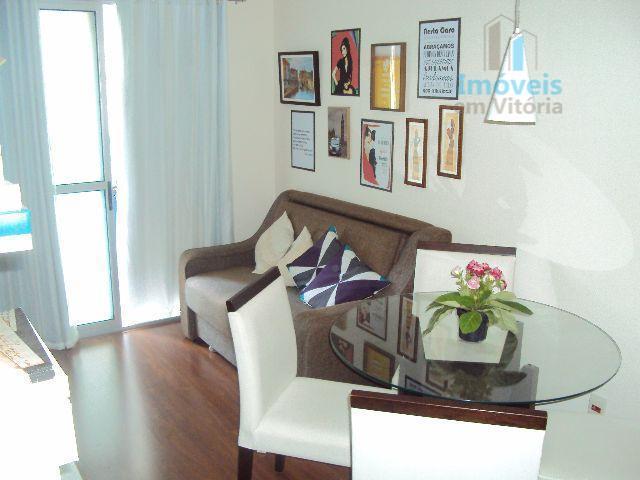 Apartamento  2 quartos, varanda e lazer completo à venda, Jardim Camburi, Vitória.