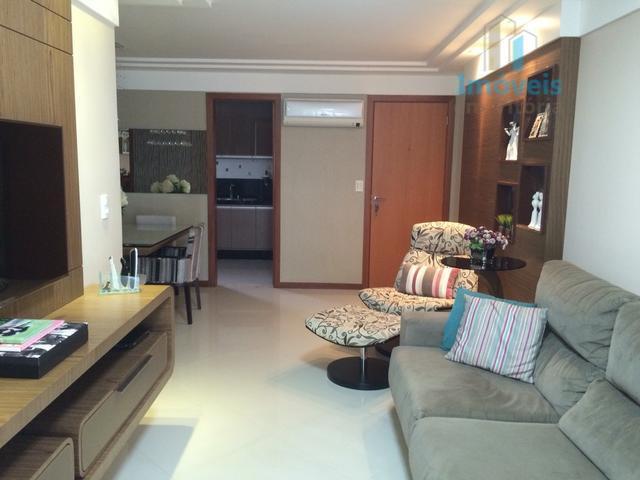 Apartamento  3 quartos com suíte e lazer à venda, Jardim Camburi, Vitória.