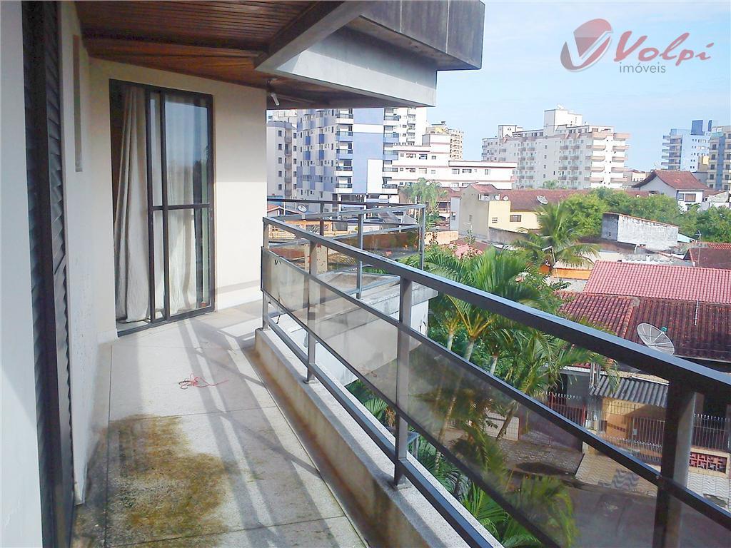 Apartamento residencial para locação, Vila Caiçara, Praia Grande - AP0017.