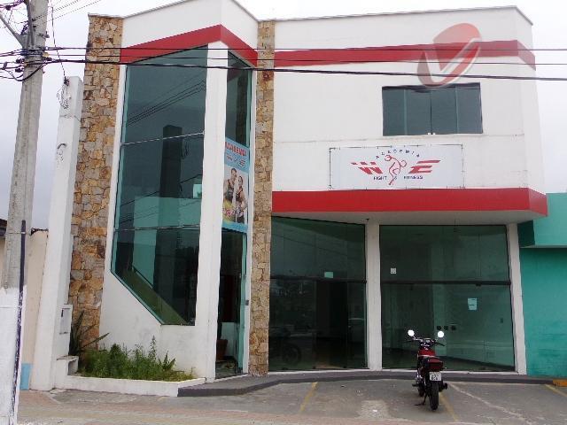 Salão comercial para venda e locação, Jardim Real, Praia Grande.