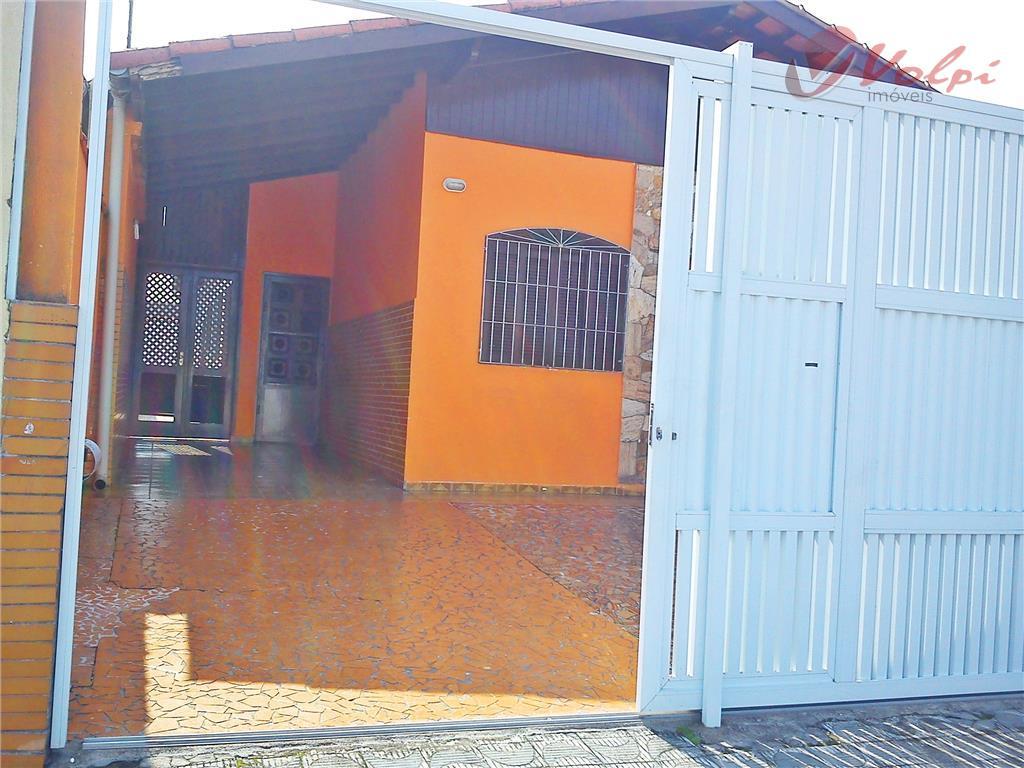 Casa residencial para locação, Jardim Imperador, Praia Grande - CA0422.