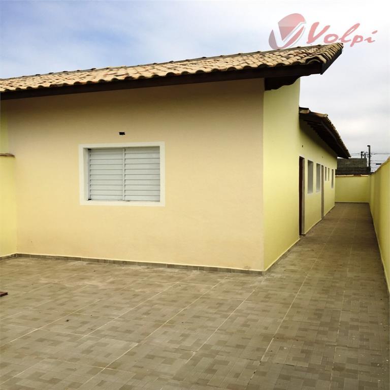 Casa nova em Mongaguá, 2 dormitórios, lado morro!