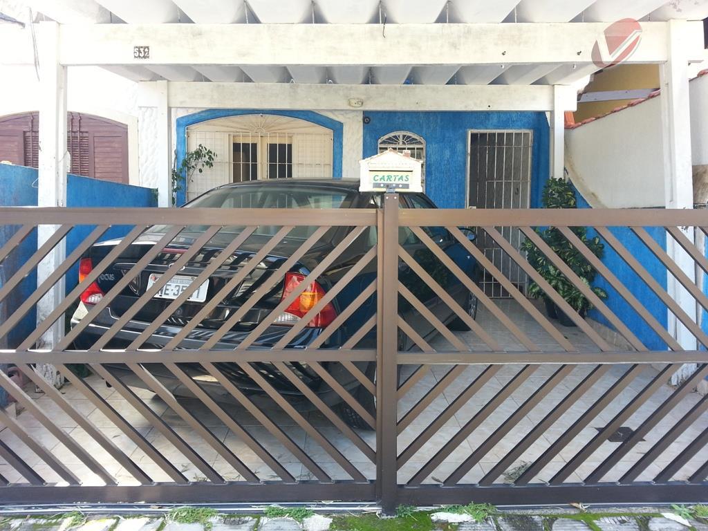 Casa residencial à venda, Jardim Imperador, Praia Grande - CA0447.