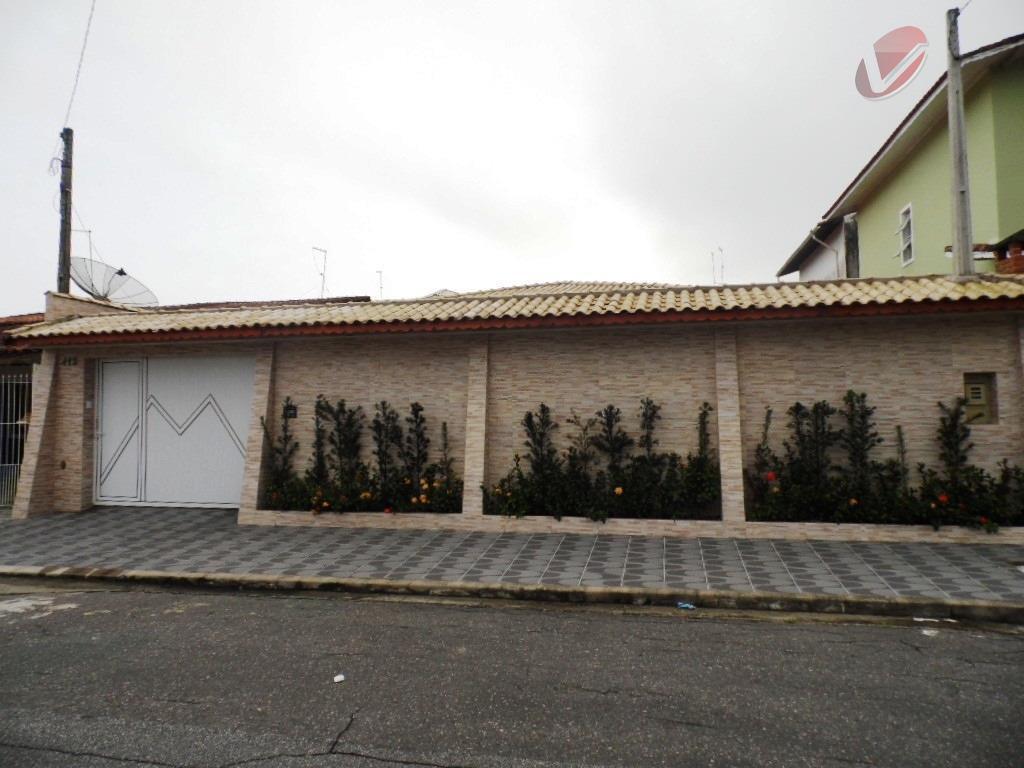 Casa isoladal para venda e locação, Balneário Flórida, Praia Grande - CA0452.