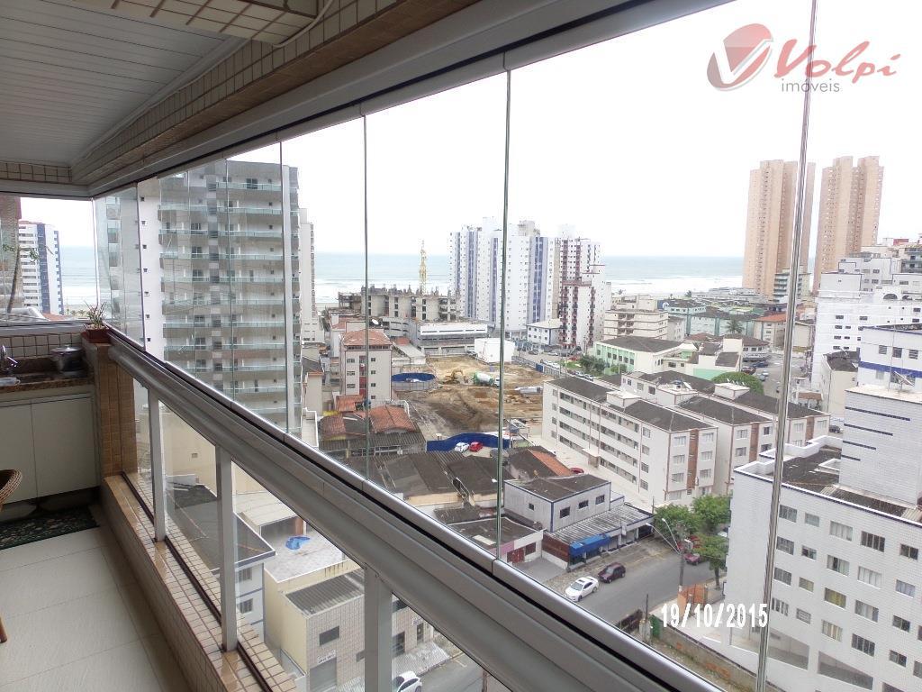 Apartamento no Vedovatti com duas suítes, no Boqueirão em Praia Grande! - AP0176.