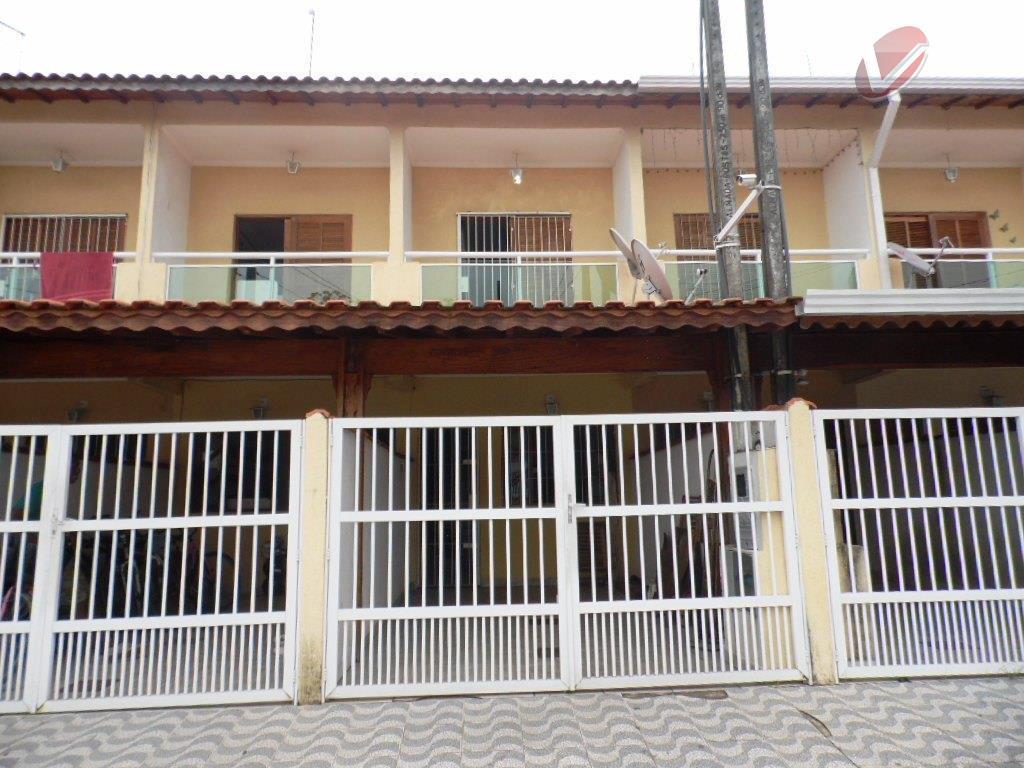 Sobrado residencial à venda, Vilamar, Praia Grande.