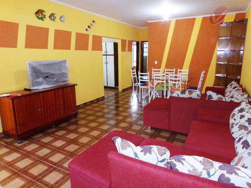 Apartamento residencial à venda, Jardim Real, Praia Grande - AP0183.