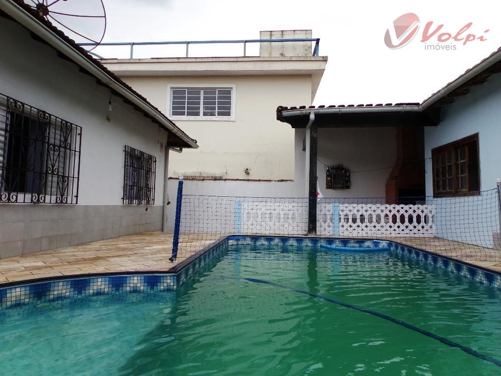 Casa residencial à venda, Jardim Imperador, Praia Grande - CA0467.