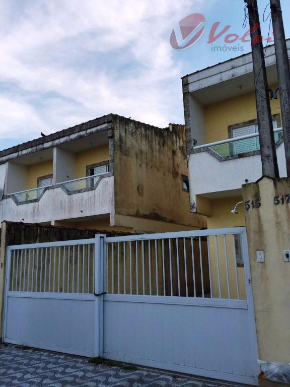 Sobrado residencial para locação, Vilamar, Praia Grande - SO0001.