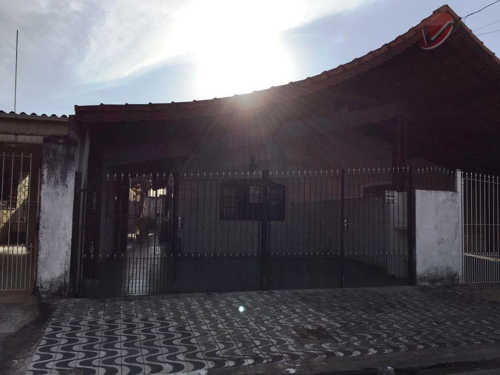 Casa  residencial para locação, Vila Tupi, Praia Grande.