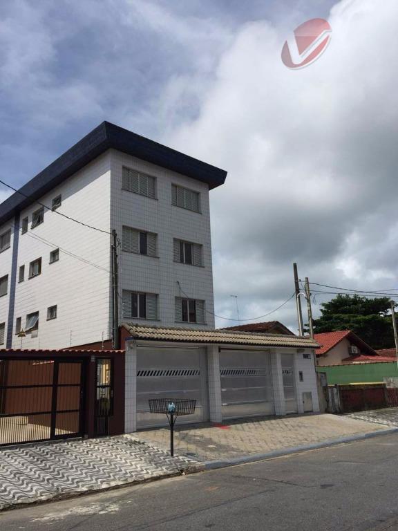 Apartamento  residencial para locação, Jardim Imperador, Praia Grande.
