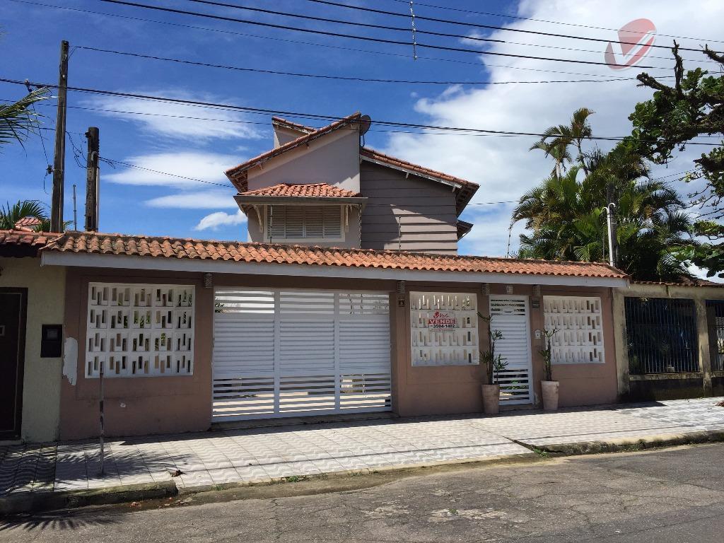 Sobrado residencial à venda, Solemar, Praia Grande - SO0043.