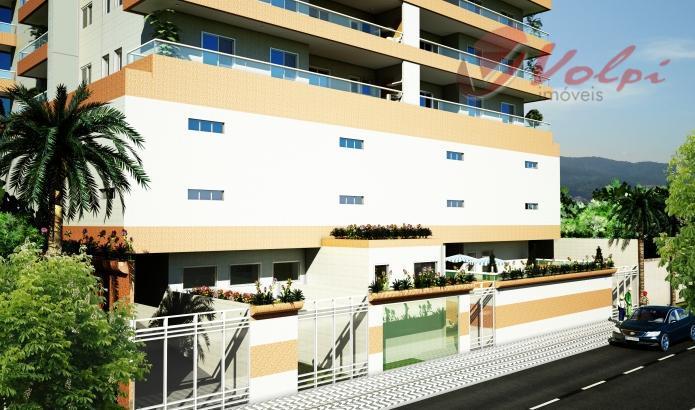 Lançamento em obras na Vila Caiçara, Praia Grande. 1 e 2 dormitórios.