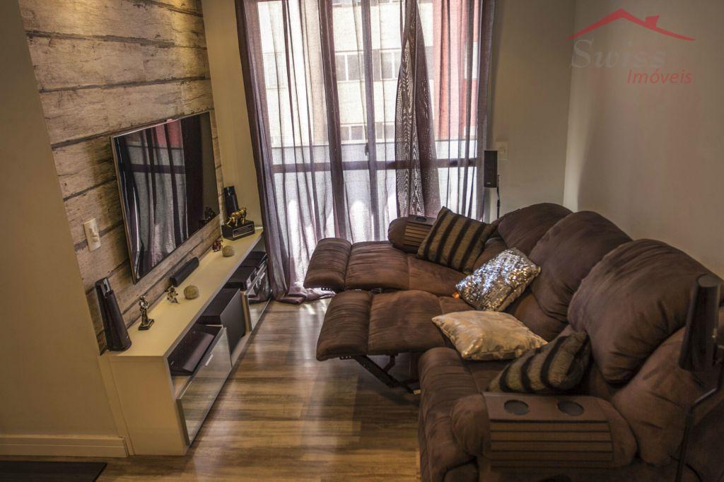 Apartamento 50 m² - 2 dormitórios - todo planejado